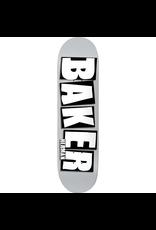 BAKER BAKER HERMAN BRAND NAME DECK-8.5 GREY/WH