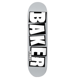 BAKER BAKER HERMAN BRAND NAME DECK-8.5 GREY/WH
