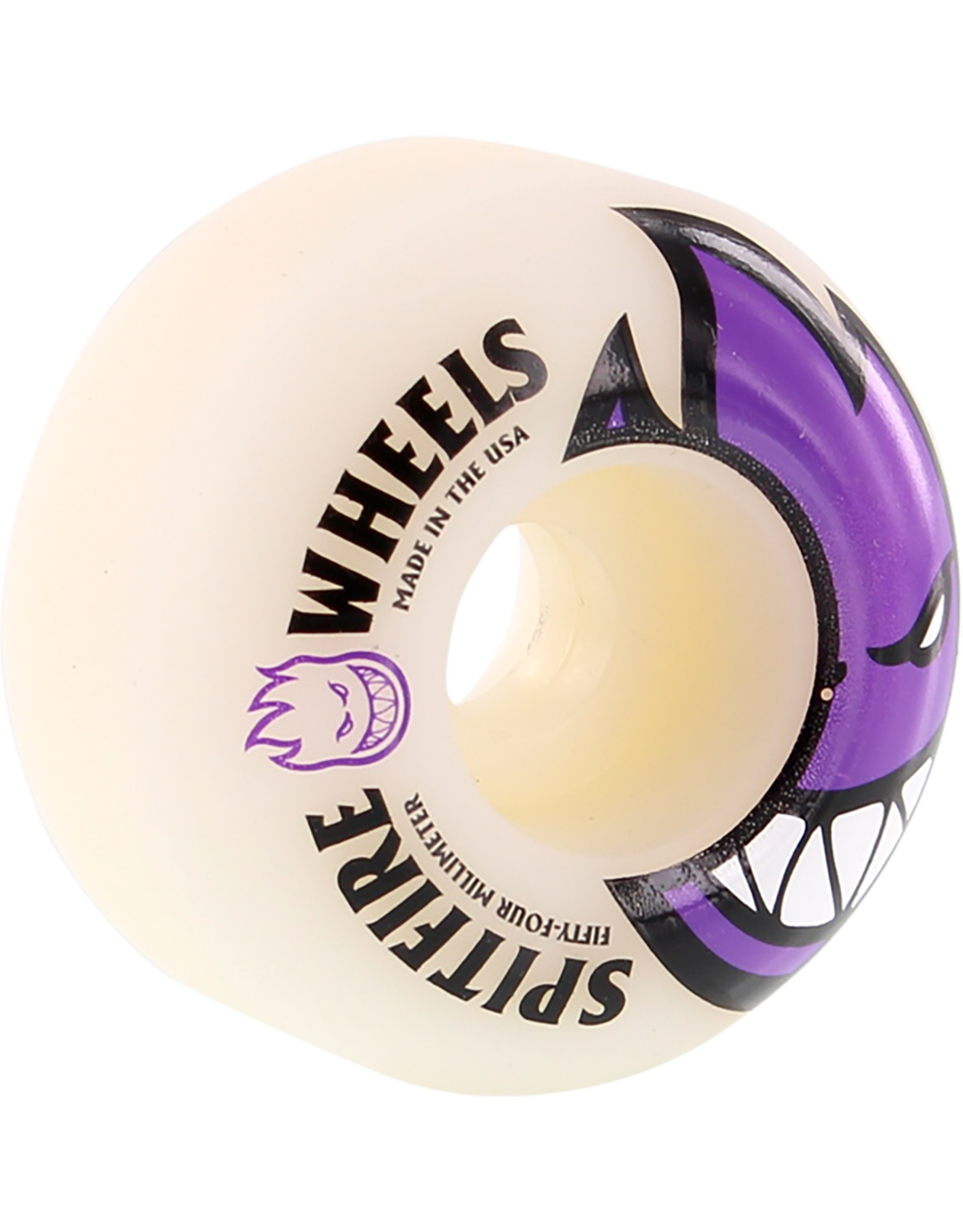 SPITFIRE SF BIGHEAD 54mm WHT W/ PURPLE