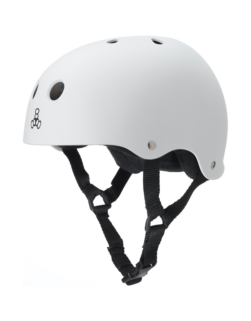T8 HELMET WHITE RUBBER