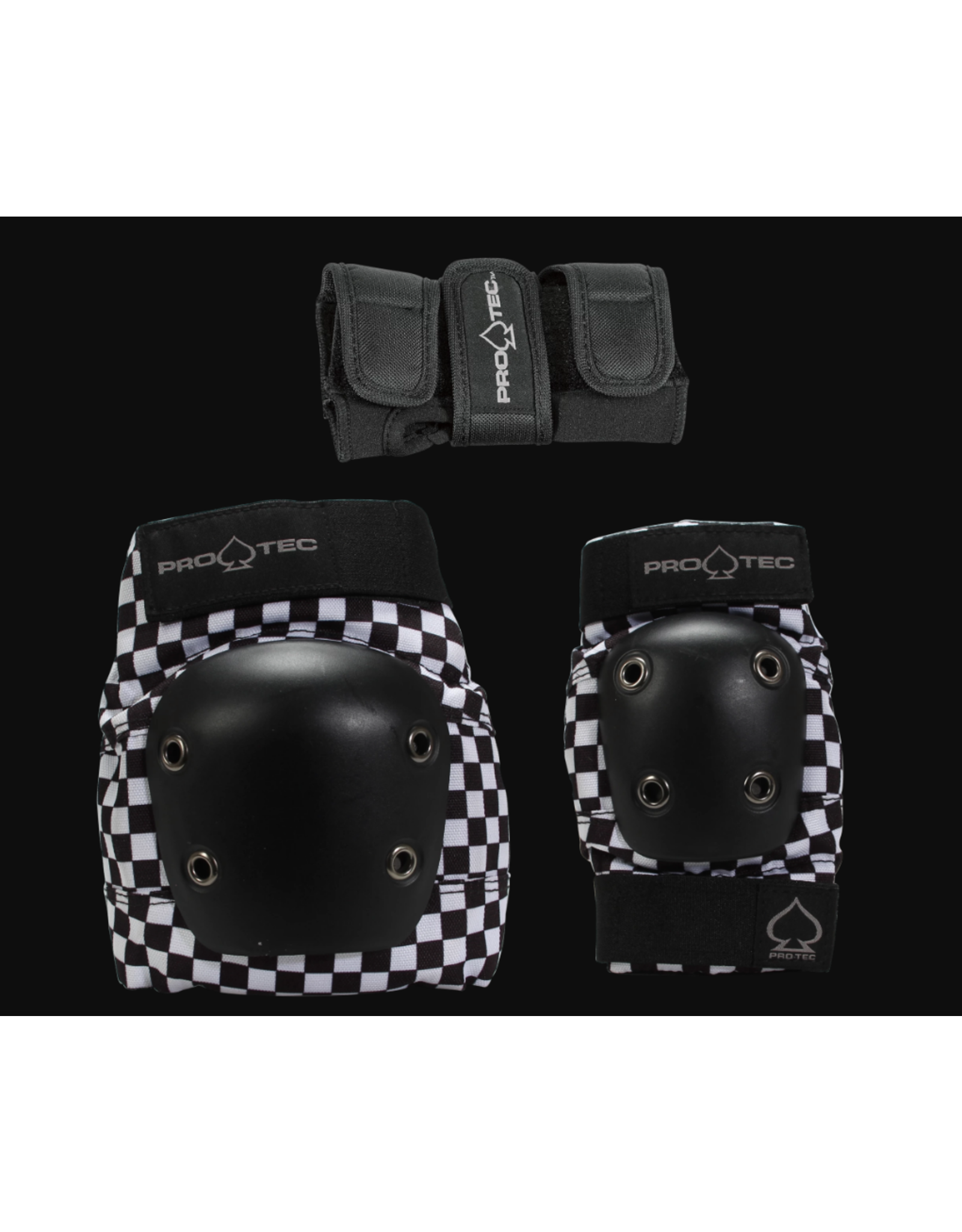 PROTEC JUNIOR 3 PACK BOX YM-CHECK BLK/WHT