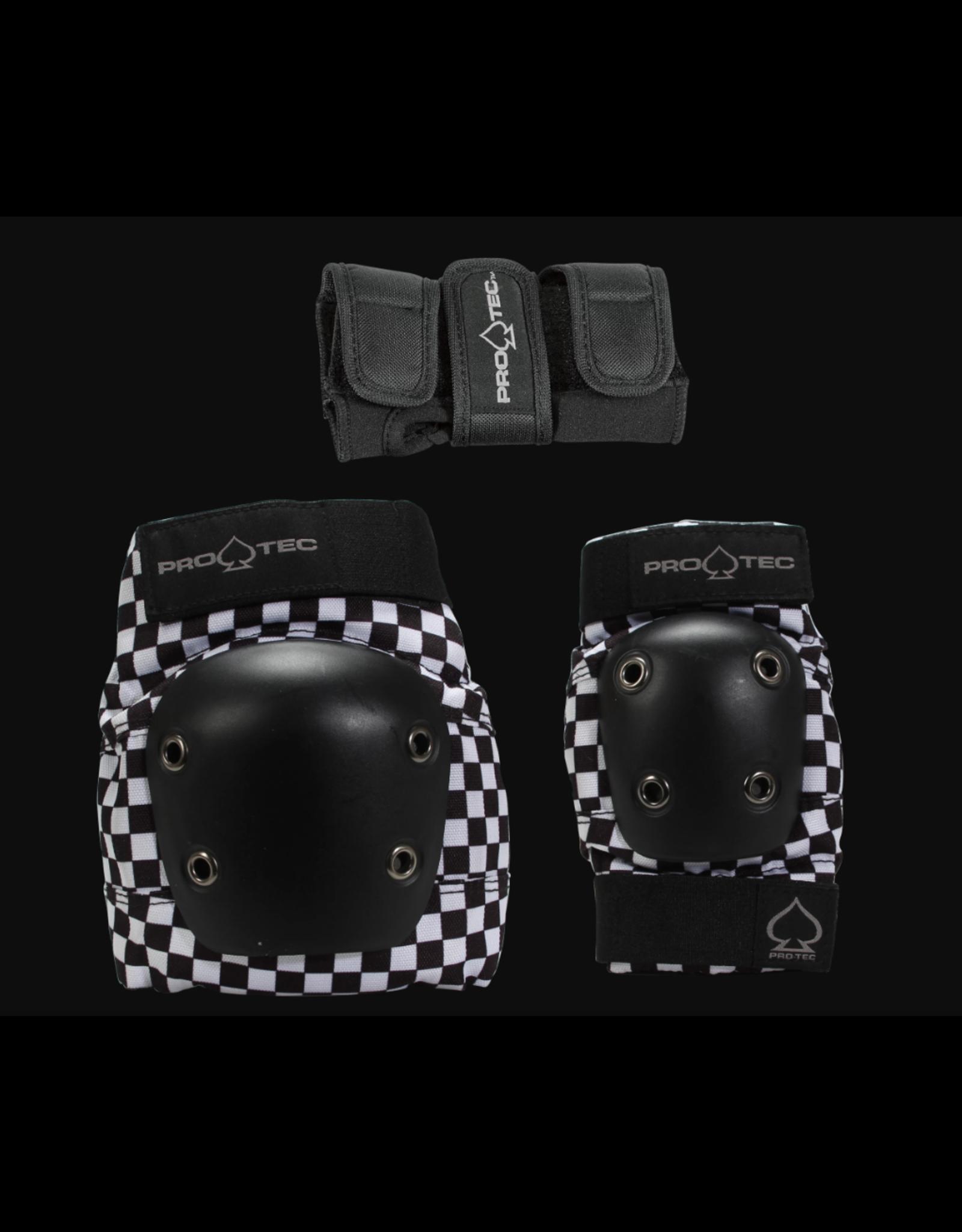 PROTEC JUNIOR STREET GEAR 3 PACK - BLACK CHECKER