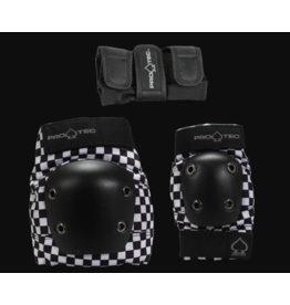PROTEC JUNIOR STREET GEAR 3 PACK - BLACK CHECKER