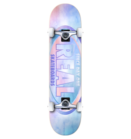 "REAL Real Skateboards Oval Watercolor Complete Skateboard - 8"" x 32"""