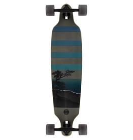 SECTOR 9 SAN CLEMENTE NIGHT LAKE DROP THROUGH SKATEBOARD COMPLETE-36""