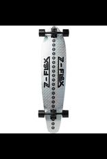 Z-FLEX Z-FLEX ROUNDTAIL SKATEBOARD COMPLETE-9.5x39.5 ZIRCONIA HOLO/BLK