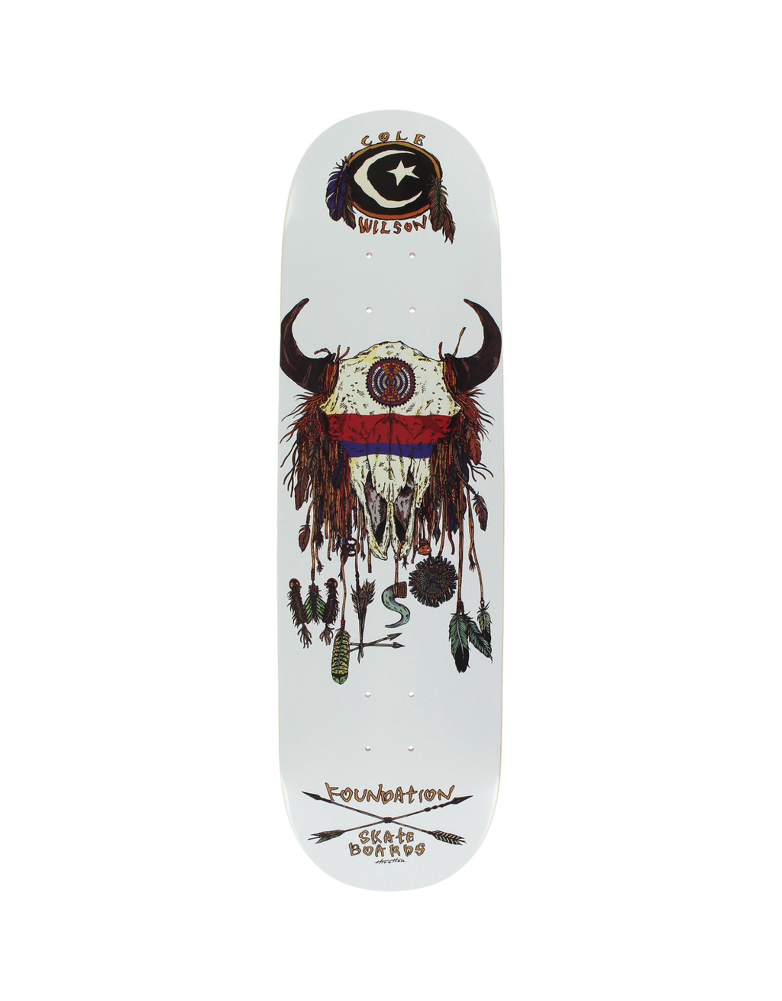FOUNDATION FOUND WILSON BUFFALO DECK-8.5