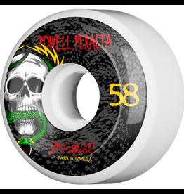 POWELL PWL/P MCGILL SKULL & SNAKE 4 PF 58MM WHT/BLK 103A