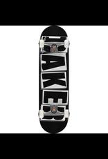 """BAKER BAKER BRAND LOGO COMPLETE SKATEBOARD - 8.25"""" WHITE/BLACK"""