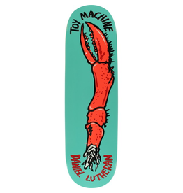 "TOY MACHINE Toy Machine Skateboards Daniel Lutheran Fos Arm Skateboard Deck - 8.5"" x 32.25"""