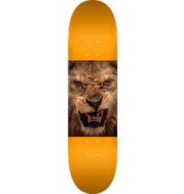 "MINI LOGO Mini Logo Animal Lion Eyes Orange Skateboard Deck 242 - 8"" x 31.45"""