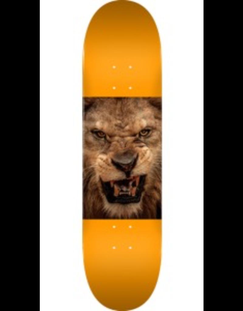 "MINI LOGO Mini Logo Animal Lion Eyes Orange Skateboard Deck 242 - 8"" x 31.45"""