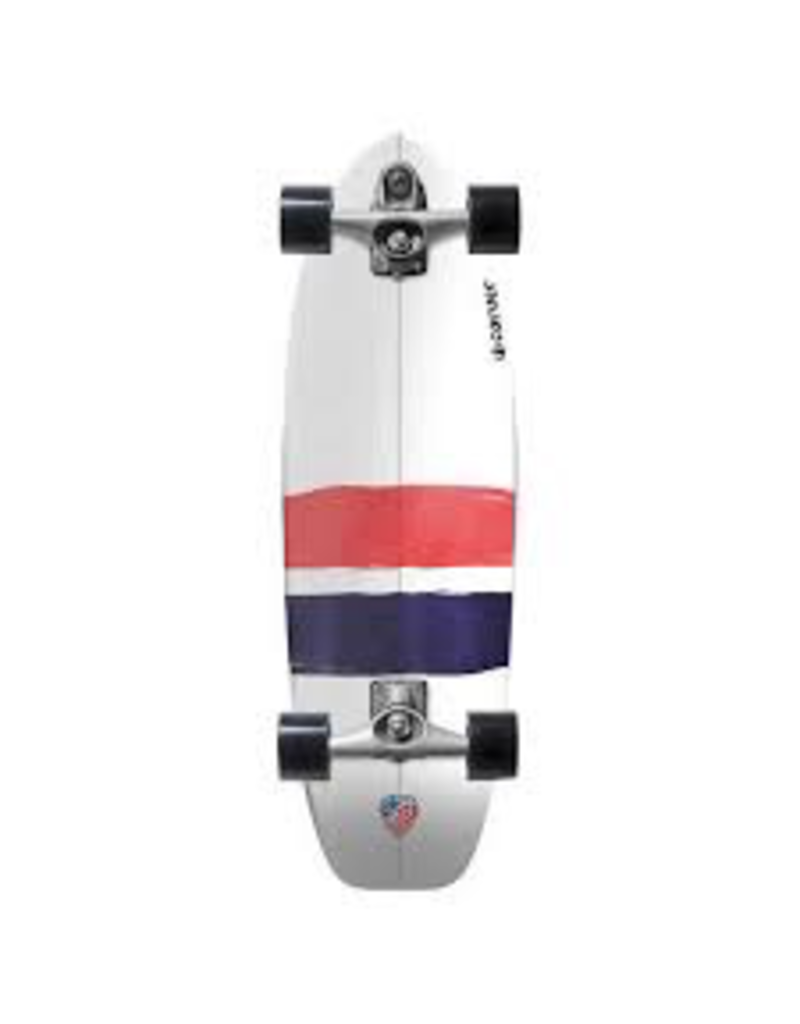 "CARVER SKATEBOARDS CARVER C7 RAW 32.25"" USA THRUSTER COMPLETE"