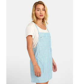 RVCA RIVER STRIPED DRESS