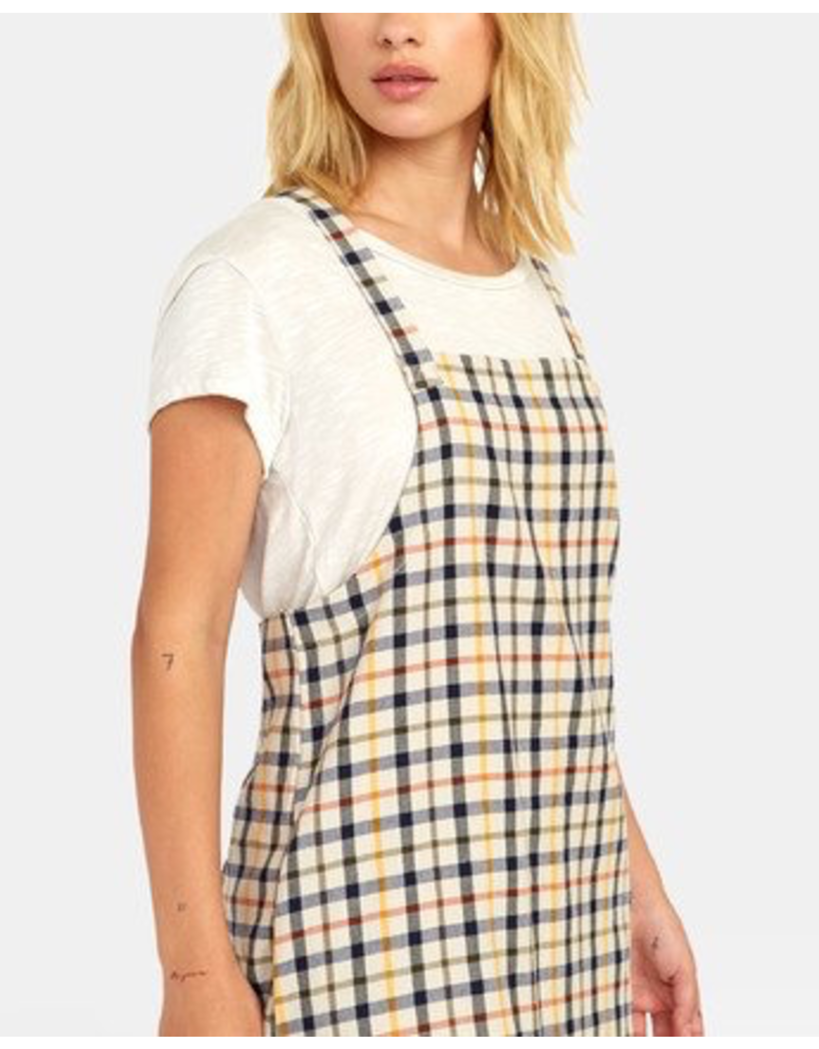 ALLEN PLAID DRESS