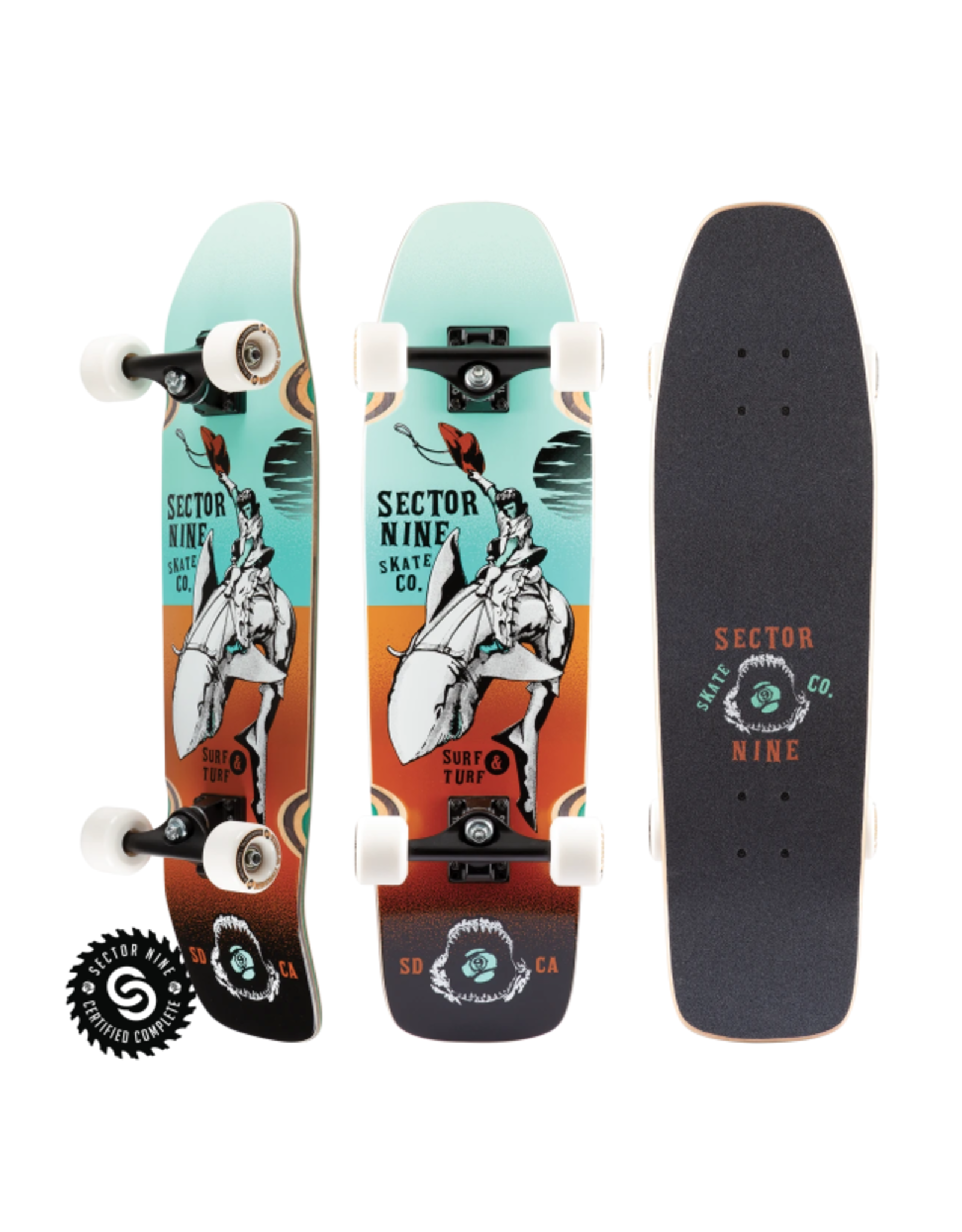 SECTOR 9 GAUCHO NINETY FIVE COMPLETE - TEAL