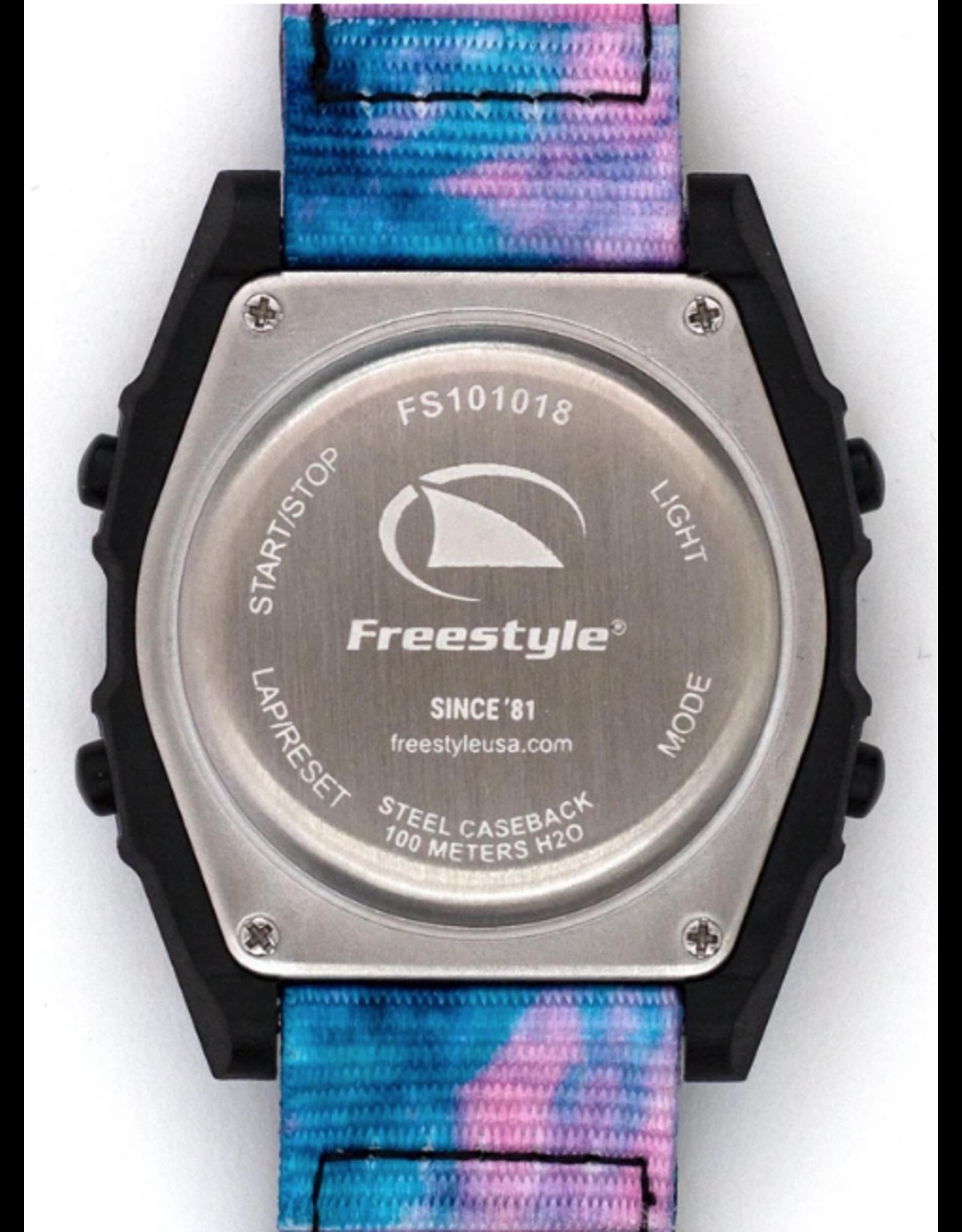 FREESTYLE FREESTYLE SHARK CLASSIC LEASH TIE-DYE BLACK TWIST WATCH