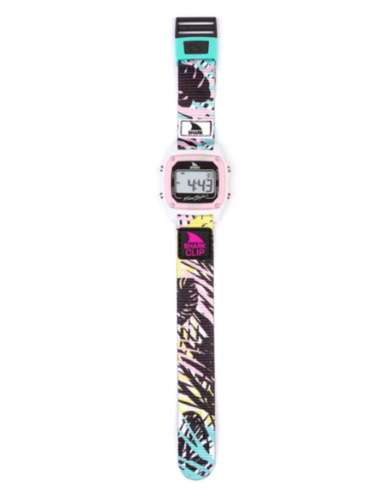 FREESTYLE FREESTYLE SHARK CLASSIC CLIP PINK PALM WATCH