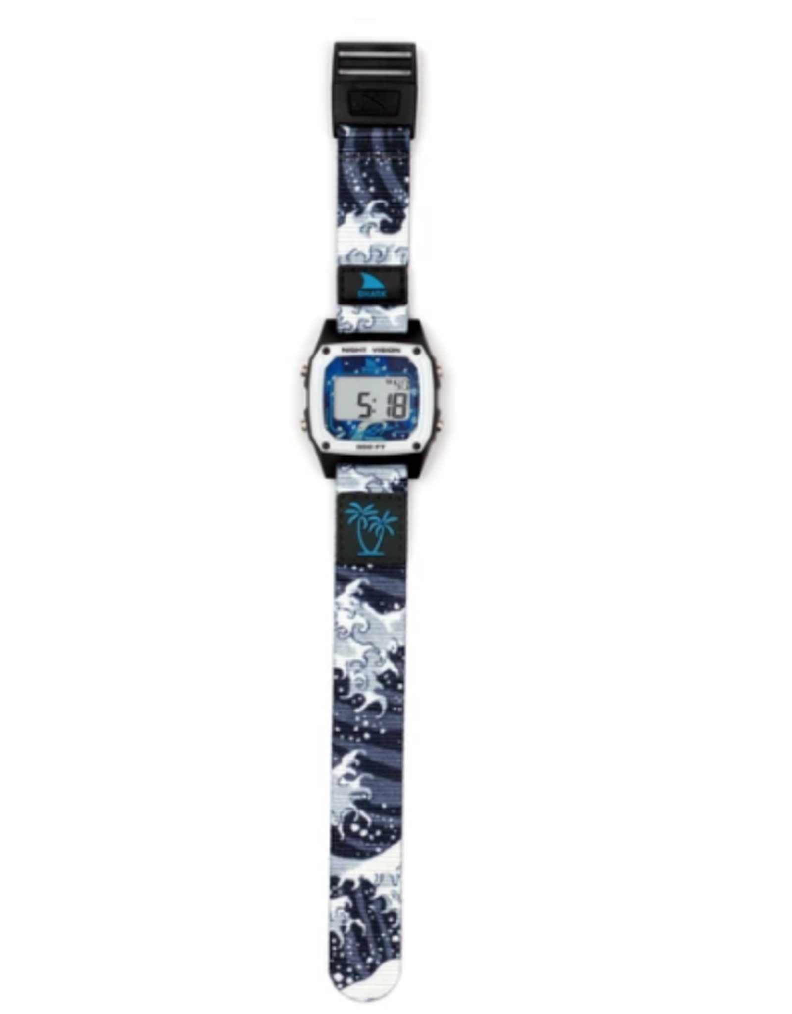FREESTYLE FREESTYLE SHARK CLASSIC CLIP LUKE DAVIS SIGNATURE WHITE WAVE WATCH