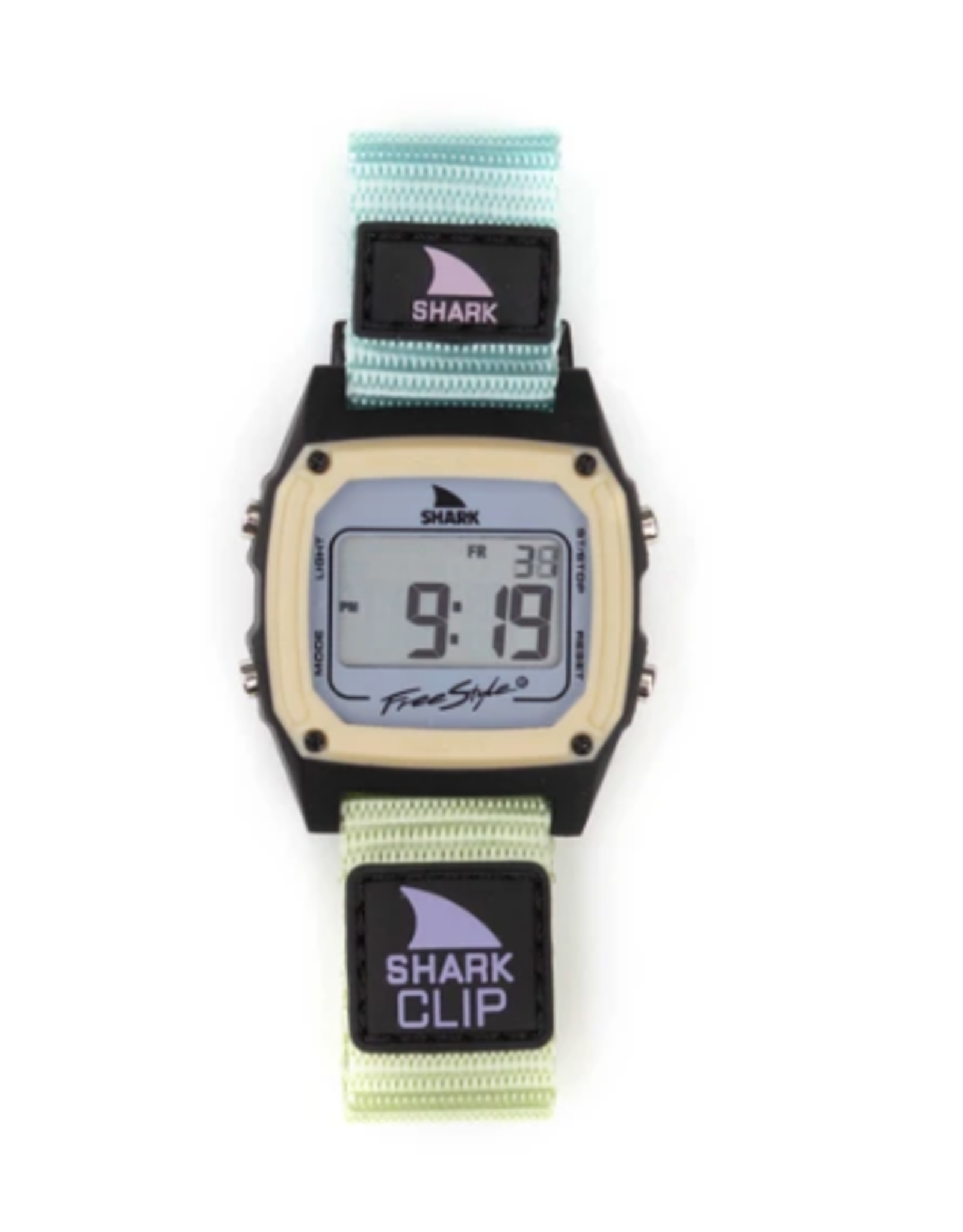 FREESTYLE FREESTYLE SHARK CLASSIC CLIP GREEN TEA WATCH