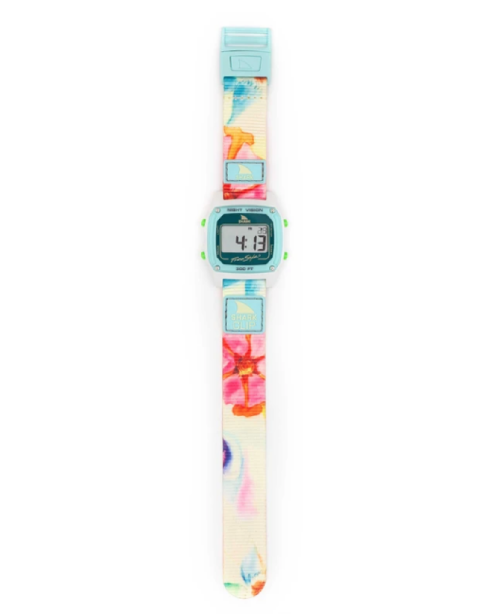 FREESTYLE FREESTYLE SHARK CLASSIC CLIP SAGE ERICKSON FLOWER POWER SIGNATURE WATCH