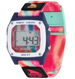 FREESTYLE FREESTYLE SHARK CLASSIC CLIP SAGE ERICKSON SIGNATURE RAINBOW SORBET WATCH