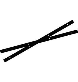 YOCAHER YOCAHER BOARD RAILS - BLACK