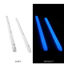 YOCAHER YOCAHER BOARD RAILS - GLOW IN THE DARK BLUE