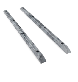 YOCAHER YOCAHER BOARD RAILS - MARBLE SWIRL BLACK/WHITE