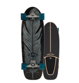 "CARVER SKATEBOARDS CARVER C7 RAW 31.25"" KNOX QUILL SURFSKATE COMPLETE (2020)"