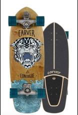"CARVER SKATEBOARDS CARVER C7 RAW 29.5"" CONLOGUE SEA TIGER SURFSKATE COMPLETE (2019)"