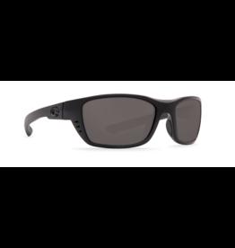 COSTA DEL MAR WHITETIP 01 BLACKOUT W/ GRAY 580P