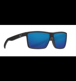 COSTA DEL MAR RINCONCITO 11 MATTE BLACK W/ BLUE MIRROR 580G
