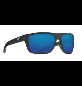 COSTA DEL MAR BROADBILL 11 MATTE BLACK W/ BLUE MIRROR
