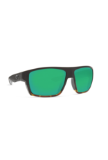 COSTA DEL MAR BLOKE 181 BLACK/ SHINY TORTOISE W/ COPPER GREEN MIRROR 580P