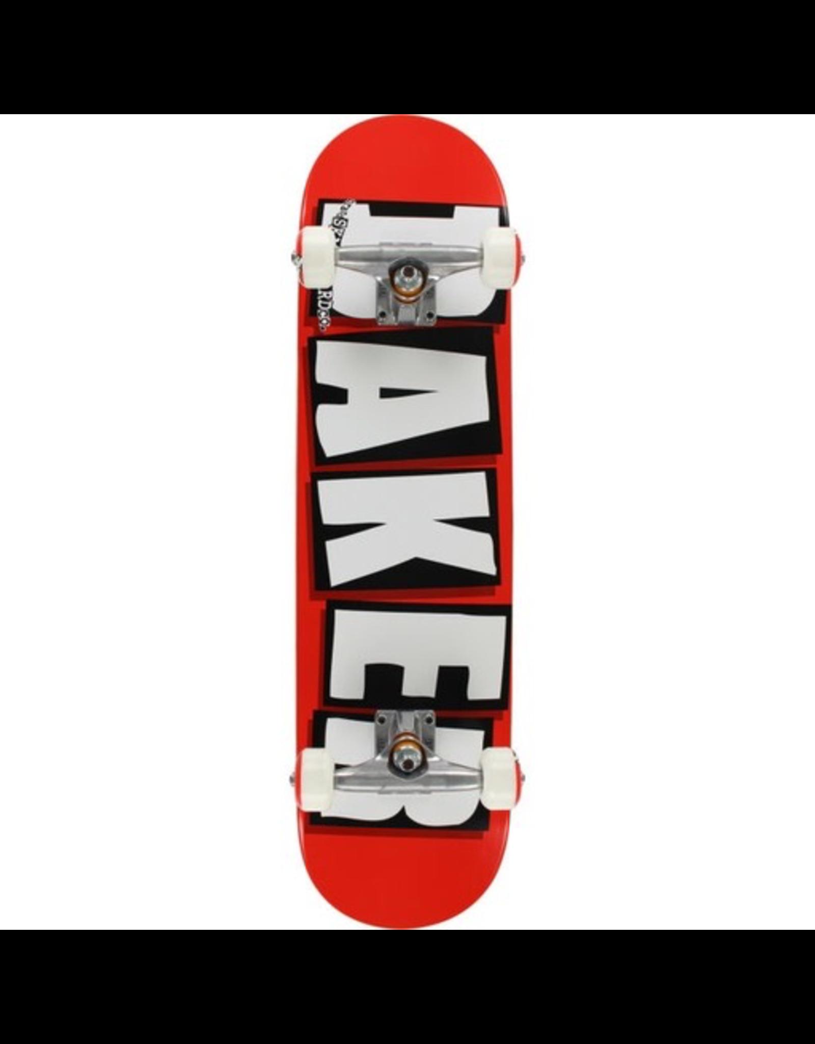BAKER BAKER BRAND LOGO COMPLETE-7.75 RED/WHT/BLK