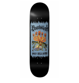 DEATHWISH DW WILLIAMS DEATH WICHZ DECK-8.25