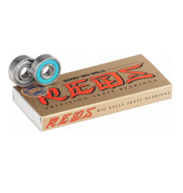 BONES BONES REDS BIG BALLS BEARINGS (8PK)