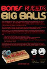 BONES BONES REDS BIG BALLS BEARINGS (8PK)