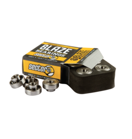 SECTOR 9 BLAZE BEARING SET ABEC5 BUILT-IN SPACERS