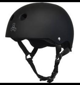 T8 Helmet Black, Rubber/Black (S)