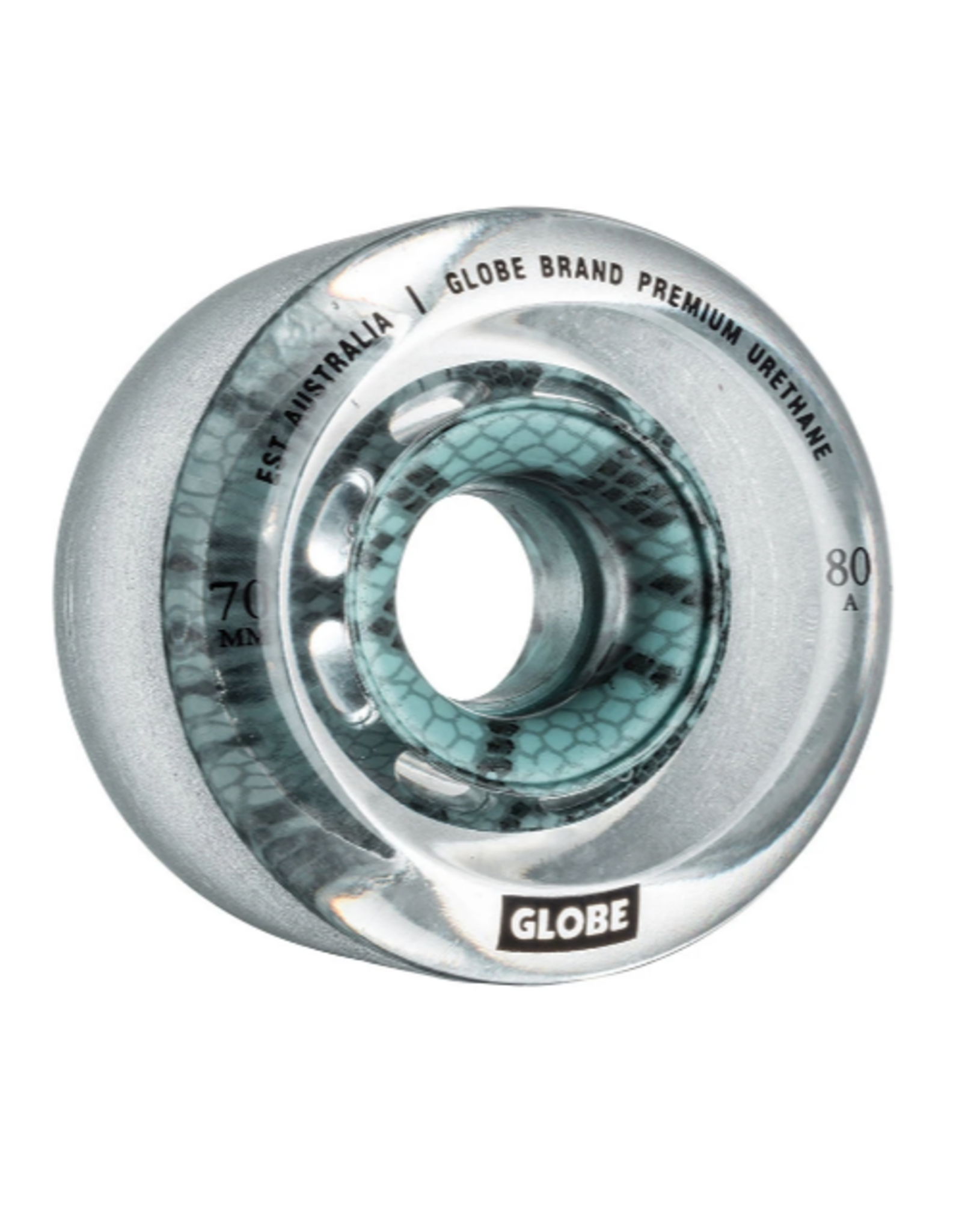 GLOBE GLOBE 62MM TROPIC SLIDE CLEAR/VIPER WHEELS 78A