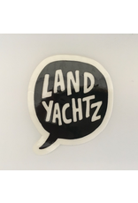LANDYACHTZ STICKER, SPEECH BALLOON SMALL