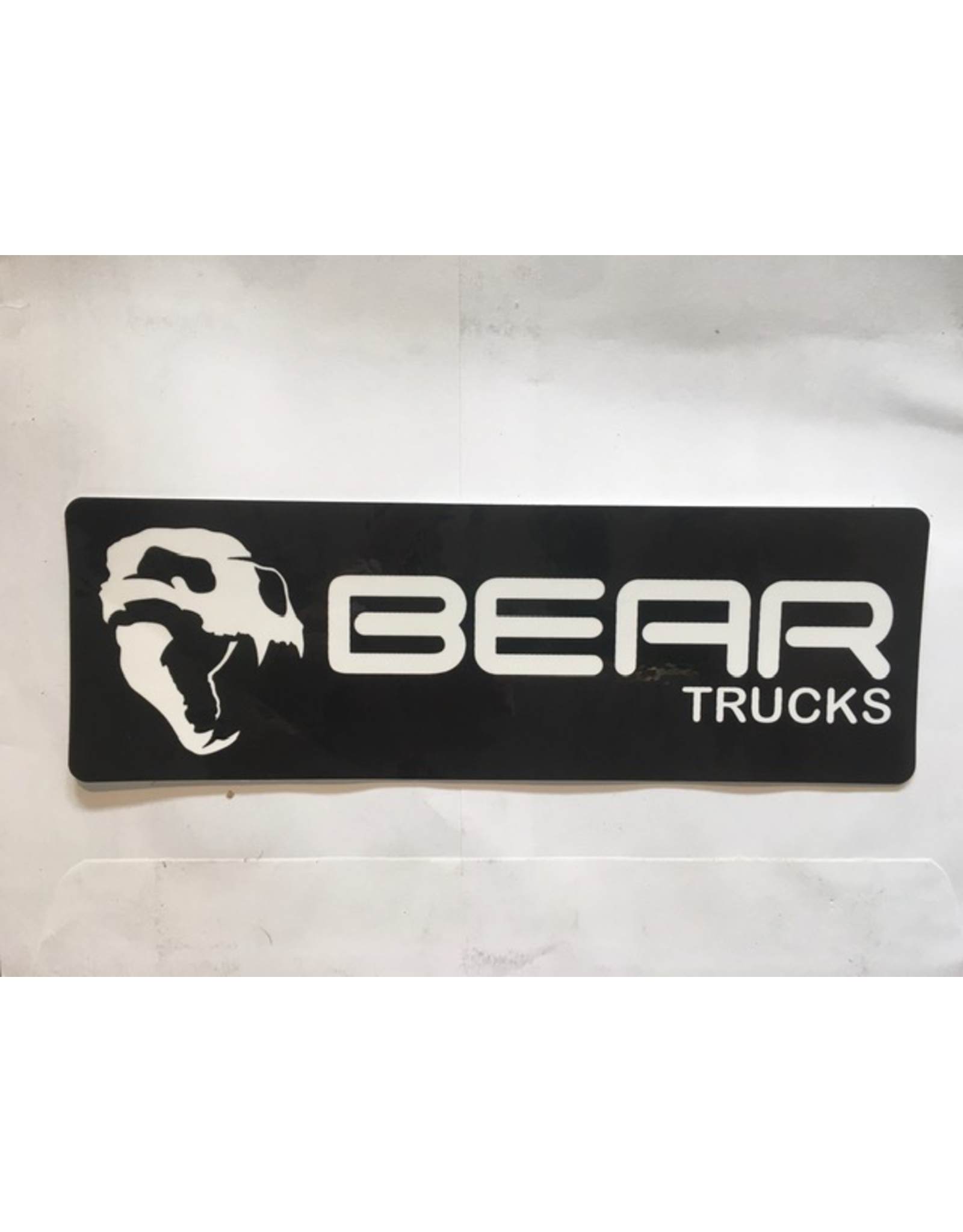 BEAR TRUCKS LOGO STICKER, BLACK