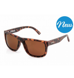 Carve CRIMSON MATTE BROWN TORTOISE POLARIZED SUNGLASSES