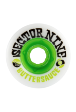 SECTOR 9 65mm 78A BUTTER SAUCE SLIDE WHEEL SET OF 4