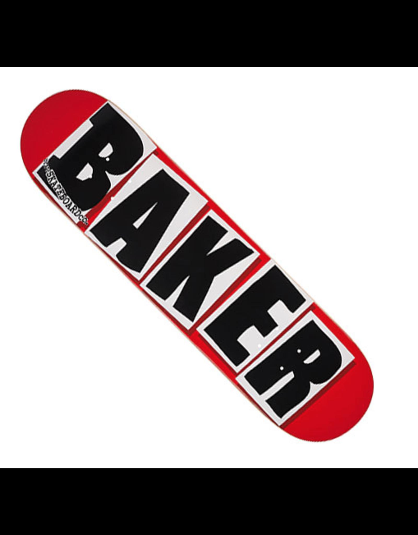 BAKER BRAND LOGO DECK-7.88 RED/BLACK