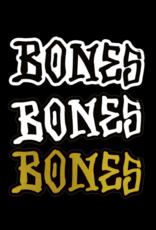 """BONES BONES 5"""" STICKER"""