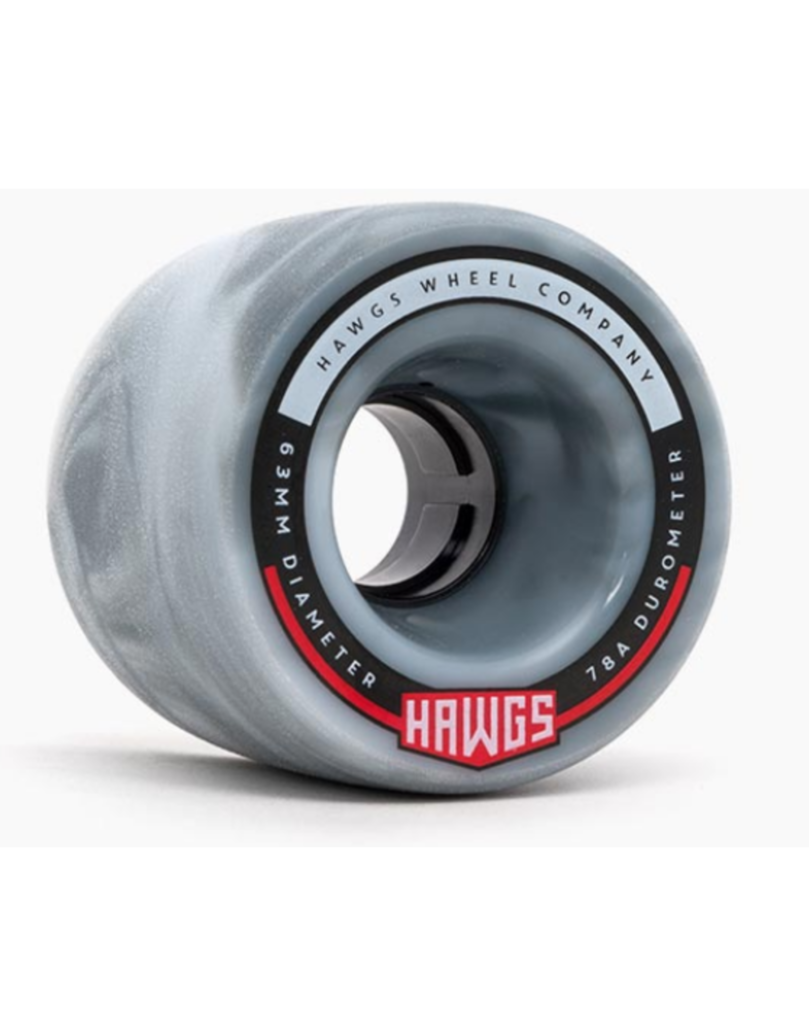 HAWGS FATTIE 63mm 78a GREY/WHT SWIRL
