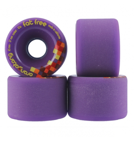 ORANGATANG ORANGATANG 65MM, 83A FAT FREE PURPLE (SET OF 4)